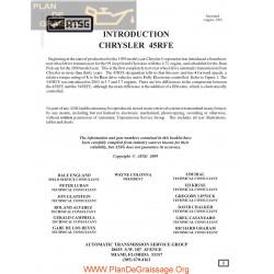 Chrysler Atsg 45 Rfe Transmission 2006 Repair Manual
