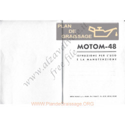 Motom 12 Uso E Manutenzione