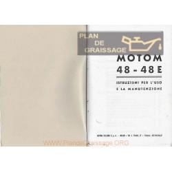 Motom 48 E 48e Uso E Manutenzione