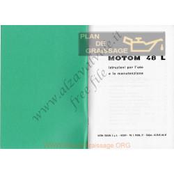 Motom 48 L Uso E Manutenzione