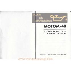 Motom 48 Uso E Manutenzione