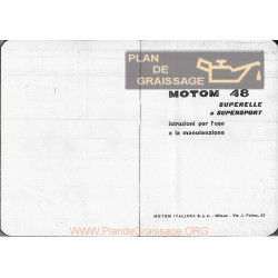 Motom Superelle E Supersport Uso E Manutenzione