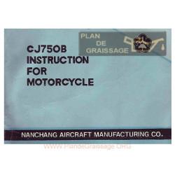 Nanchang Cj750b Moto Instructions For Motorcycle
