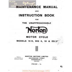 Norton 16h Big4 Model 18 Es2
