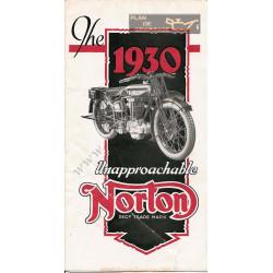 Norton 1930 Cat
