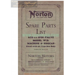 Norton 633 Side Valve Ingles