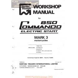 Norton 850 Mark 3 Commando Workshop Manual