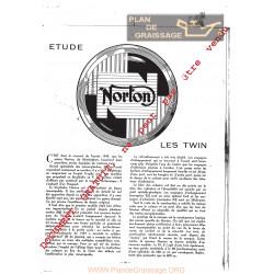 Norton 88 99 Les Twin Manuel 1956