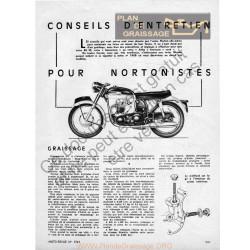 Norton Conseils Entretien 1965