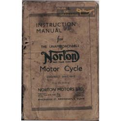 Norton Motor Cycle 294 C 1935