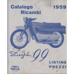 Parilla Slughi 99 4t Cat Ricambi