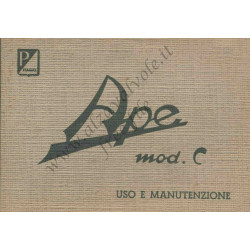 Piaggio Ape Ac4 Manual User