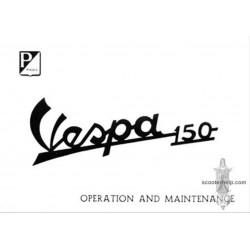 Piaggio Vespa 150 Operation Maintenance