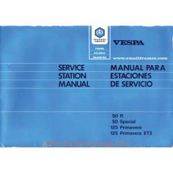 Piaggio Vespa 50 Special 50r Primavera Et3 Manual De Reparatie