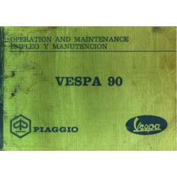 Piaggio Vespa 90 Operation Maintenance