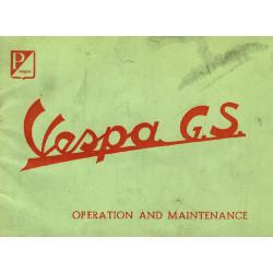 Piaggio Vespa Gs Operation Maintenance