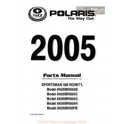 Polaris Sportsman 500 Parts List