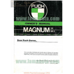 Puch Magnum Manual De Usuario Ingles