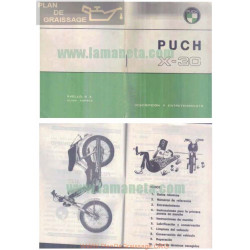 Puch X 30 Manual Usuario