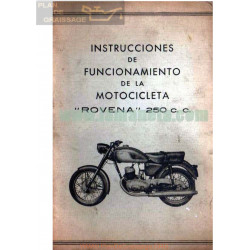 Rovena 250 Cc Manual Usuario
