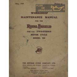 Royal Enfield 125 Cc Model Re Maintance Manual
