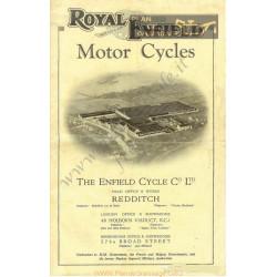Royal Enfield 1927 Catalogue