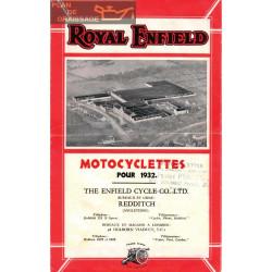 Royal Enfield 1932 Informatii Tehnice