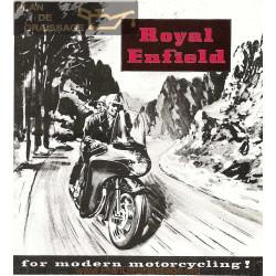 Royal Enfield 1959 Informatii Tehnice
