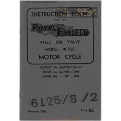 Royal Enfield 346cc W D C 1940