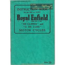 Royal Enfield 350 346cc Clipper 1955