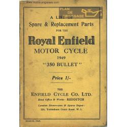 Royal Enfield 350 Bullet Sl 1949