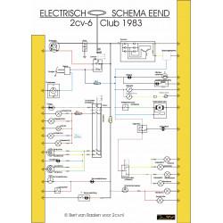 Citroen 2cv 1983 Schema Electrique