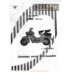 Rumi Formichino 125cccatalogo Ricambi