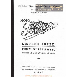 Sertum 250 Vt E Vl Listino Pezzi Di Ricambio