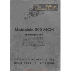 Sertum 500 Mcm Monoposto Cat Delle Parti Di Ricambio Edizione Del 1941