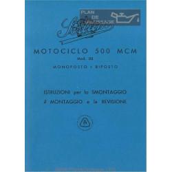 Sertum 500 Mcm Monoposto E Biposto Manuale Di Officina Edizione Del 1942