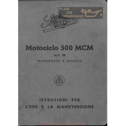 Sertum 500 Mcm Monoposto E Biposto Uso E Manutenzione Edizione Del 1942