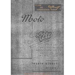 Sertum 500 Monocilindrica Elastica Uso E Manutenzione Edizione Del 1940