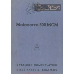 Sertum Motocarro 500 Mcm Cat Parti Di Ricambio