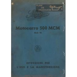 Sertum Motocarro 500 Mcm Uso E Manutenzione Edizione Del 1944