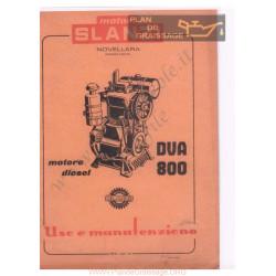 Slanzi Diva 800 Uso E Manutenzione