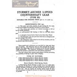 Sturmey Archer Caja Cambio Type Ls Lw Hw Lista De Repuesto E Instrucciones 1931 Ingles