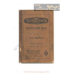 Sunbeam 1939 Istruzioni