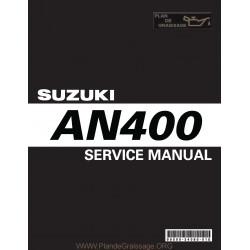 Suzuki An400 Sm Burgman 2003