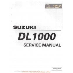 Suzuki Dl 1000 V Strom 2002 Manual De Reparatie