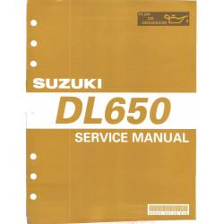 Suzuki Dl 650 K4 Svc Man