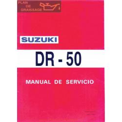 Suzuki Dr 50 1991 Manual De Reparatie