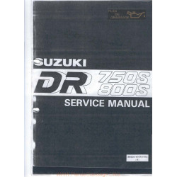 Suzuki Dr 750 800 Big 1989 1997 Manual De Reparatie