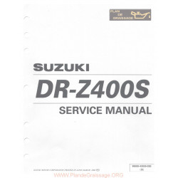 Suzuki Drz 400 S General Info