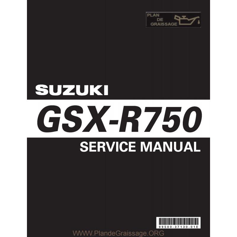 Suzuki Gsx R 750 K6 K7 Manual De Reparatie